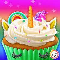 Unicorn Rainbow Cupcake
