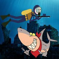 Shark Attack! Deep Sea Diver