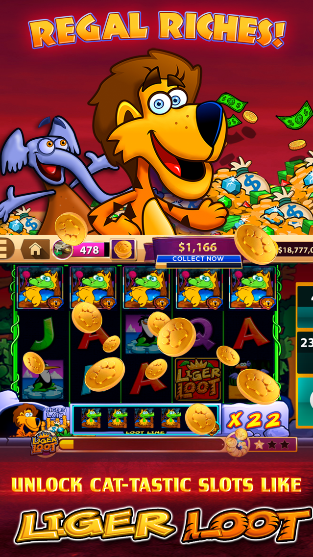 CATS Casino - Real Hit Slots! App for iPhone - Free Download