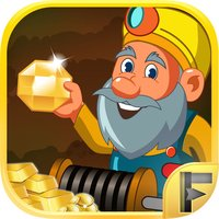 Gold Rush Miner Tricky Puzzle Digger Arcade Game