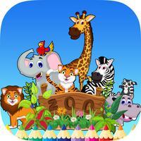 Zoo Safari Coloring Book Animal for Kids
