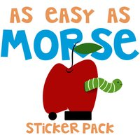As Easy As Morse Stickers Pack