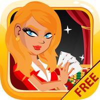 Blackjack Card Casino 21 Free - Las Vegas Edition