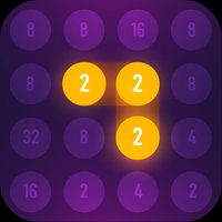 2048 connect: 2 & 2 game