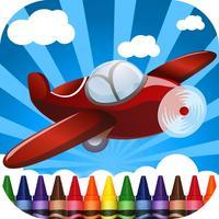 Planes Coloring-Book