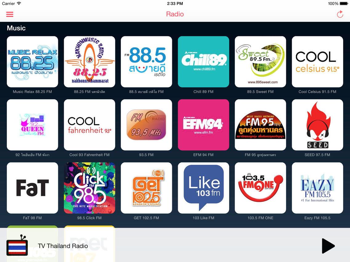 Tv Thailand App