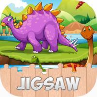 Cartoon Dino Dinosaur Puzzles Jigsaw Games