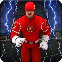 Flash Superhero City Battle