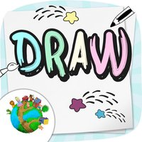 Draw and paint your sketch - for preschool children