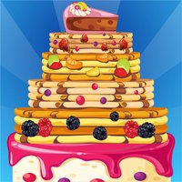 Pancake Stacking Game - Make a Tower of Food for Breakfast