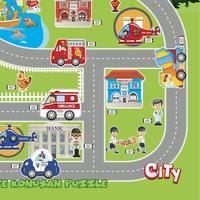 Akar Jagu City Puzzle