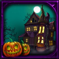Halloween Escape Dark Fence