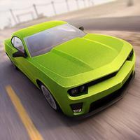 Real Roads   Crazy Speed Car Desert Racing Game