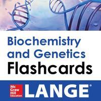 Biochemistry and Genetics Lange Flash Cards