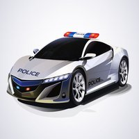 A Police Chaser Chasing – Auto Car Racing on the Streets of Danger