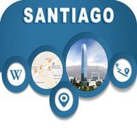 Santiago Chile Offline City Maps with Navigation
