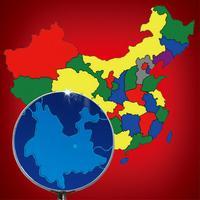 Guess China Map - 疯狂猜中国地图