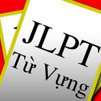 JLPT Từ Vựng Tiếng Nhật Flash Cards
