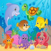 Sea Animals Puzzle Toddlers Learning Games