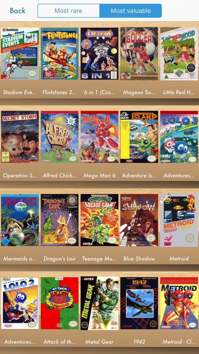 Retro Game Collector App for iPhone - Free Download Retro