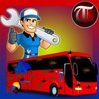 Bus Repair Stand