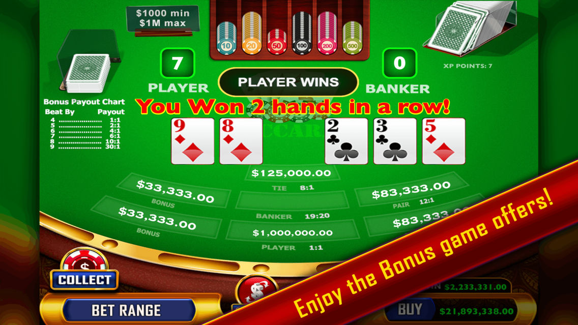 Baccarat Casino Style App For Iphone Free Download Baccarat Casino Style For Iphone Ipad At Apppure