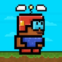 Swing Mine - Cool Pixel Heli-Copter Action Game
