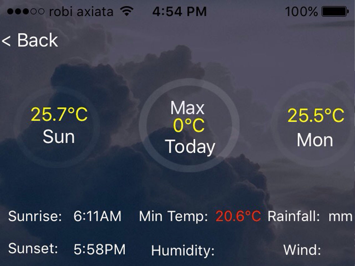 BMD Weather App App for iPhone - Free Download BMD Weather
