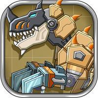 Desert T-Rex Robot Dino Army