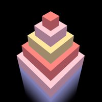 Color Tower. Collect platforms