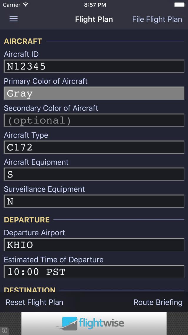 Flightwise Flight Planner App for iPhone - Free Download Flightwise