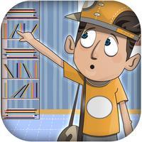 Jumping Teen Escape - Lazy Boy Avoiding Books (Free)