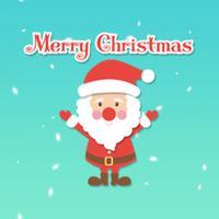 Santa Claus Animated Sticker