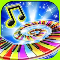 Glow Piano : Free amazing glowing music for kids