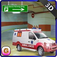 Multi-Storey Ambulance Parking - Emergency Hospital Rescue Driving Simulator