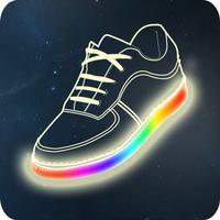 Shining shoe