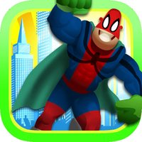 The Ultimate Action Superheroes Power Quest - Dressing Up Game