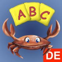 German Alphabet Edu Cards