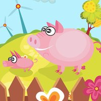 Animal game for children age 2-5: Get to know the animals of the farm