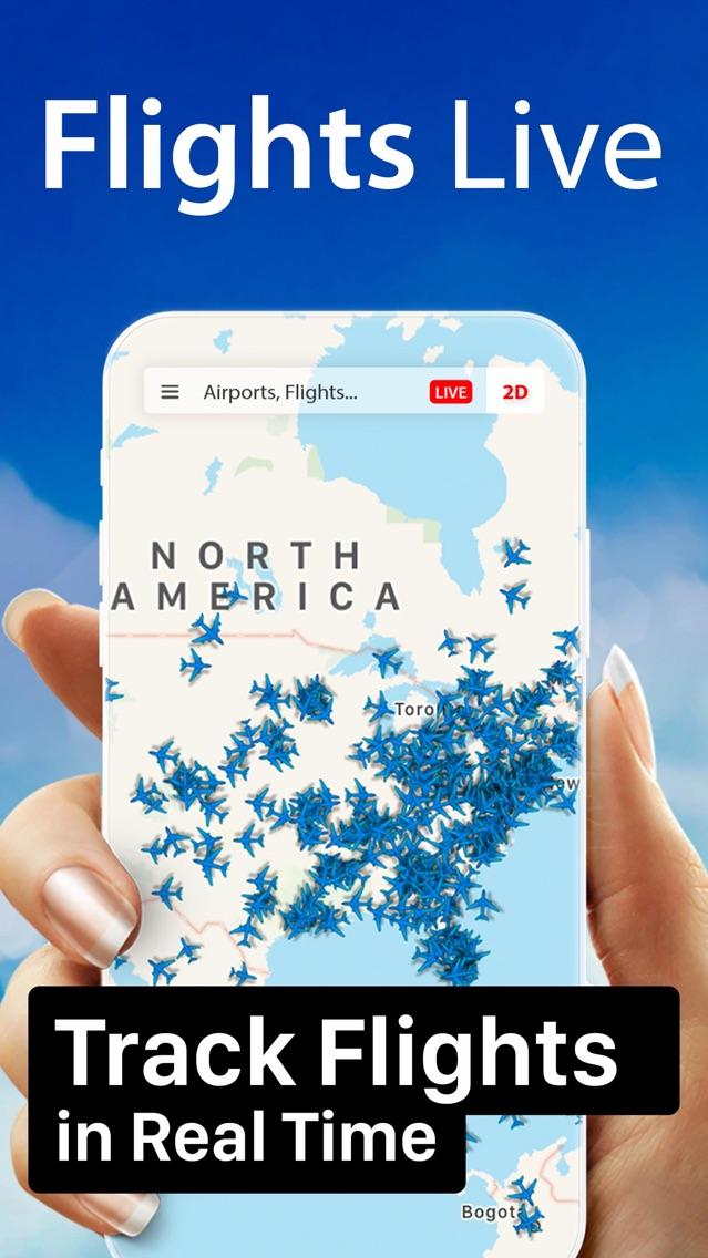 Flight Live: Radar & Tracker App for iPhone - Free Download