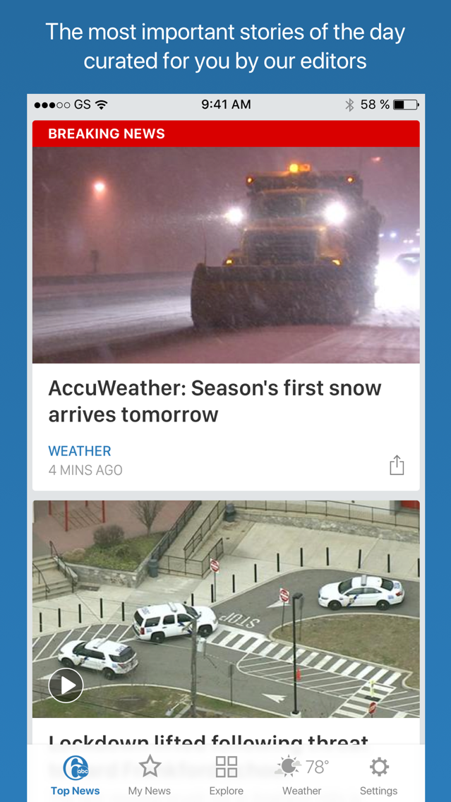 6ABC Philadelphia App for iPhone - Free Download 6ABC