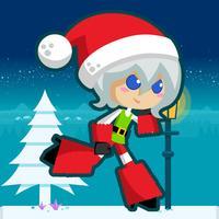 Santa Girl Run ~ Runner & Racing Games For Free