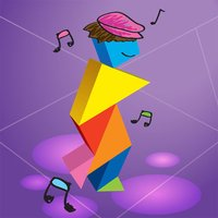 Kids Learning Puzzles: Dance, Tangram Playground
