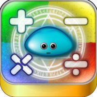 Flick!Math - Practice mental arithmetic by this calculation puzzle game. Flick and attack dragons!