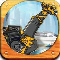 恐龙机器人-侏罗纪恐龙世界拼图游戏