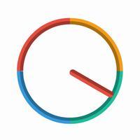 Fast round clock