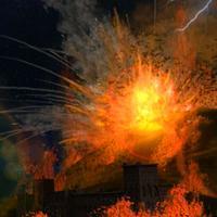 Volcano Fire Fury
