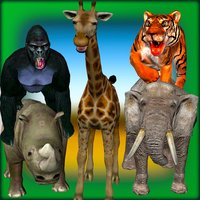 Safari Animals: Scary Tiger