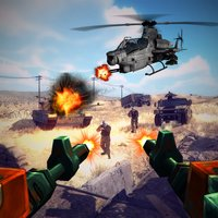 Frontline US Army Missile War : Terrorist Shooting