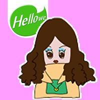 Hellowe Stickers: Little Woman